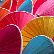 Colorful umbrellas — Stockfoto