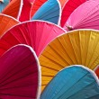 Stock Photo: Colorful umbrellas