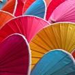 五彩缤纷的遮阳伞 — 图库照片