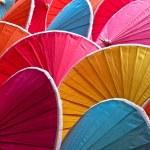 Colorful umbrellas — Стоковое фото