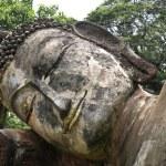 Face of buddha — Stock Photo