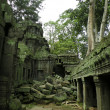 Stock Photo: Temple ruins