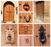 Door to the house — Stockfoto