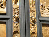 Doors of Paradise Florence — Stock Photo