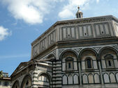 Baptistery florence — Stock Photo