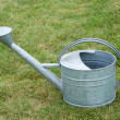 Stock Photo: Garden watering can