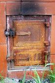Dökme demir kapı — Stok fotoğraf