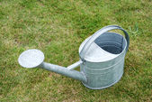 Garden watering can — Stock Photo