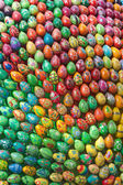 Colorful hand painted easter eggs — Foto de Stock