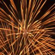 Fireworks over a night sky — Stock Photo #3178908