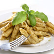 Royalty-Free Stock Photo: Penne with pesto