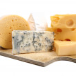 Types of cheese isolated — Stock Photo #3016104