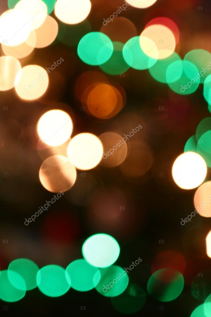 Abstract colorful light background for Christmas or New Years   Stock Photo #3018279