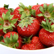 Strawberries in a bowl — Stock Photo #3320910