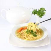 Chicken soup — Стоковое фото