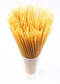 Raw spaghetti — Stock Photo
