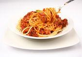 Spaghetti bolognese — Stock Photo