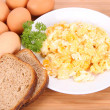 Royalty-Free Stock Photo: Scrambled eggs