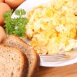 Scrambled eggs — Stock Photo #3558774