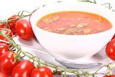 Tomatsoppa — Stockfoto
