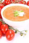 トマトのスープ — ストック写真