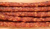 Smoked sausages — Stock Photo
