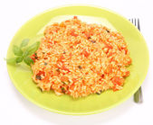 Risotto with tomatoes — Zdjęcie stockowe