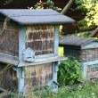 Antique beehives — Stock Photo