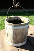 Antique bucket — Stockfoto