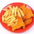 Fish and chips — Stock Photo #3750015