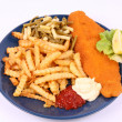 Fish and chips — Stock Photo #3750329