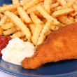 Fish and chips - Stockfoto