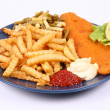Fish and chips — Stock Photo #3750548