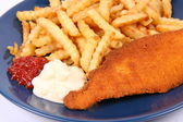 Fish and chips — Foto Stock