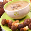 Mushroom soup — Stock Photo #3782298