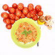 Risotto with tomatoes — Photo