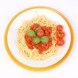 Spaghetti Bolognese — Stock Photo #3887757