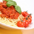 Spaghetti Bolognese — Stock Photo #3888144