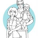 Постер, плакат: Family
