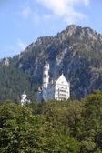 Burg auf dem felsen — Stockfoto