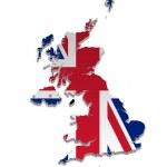 UK and Crown Dependencies Map — Stock Vector