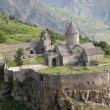 Aerial view on Tatev - Stock Photo
