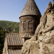 Old Geghard monastyr - Armenia — Stock Photo