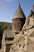 Old Geghard monastyr - Armenia — Stock Photo