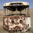 Broken bus — Stock Photo