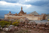 Ishak Pasha Palace near Dogubayazit — Stock Photo