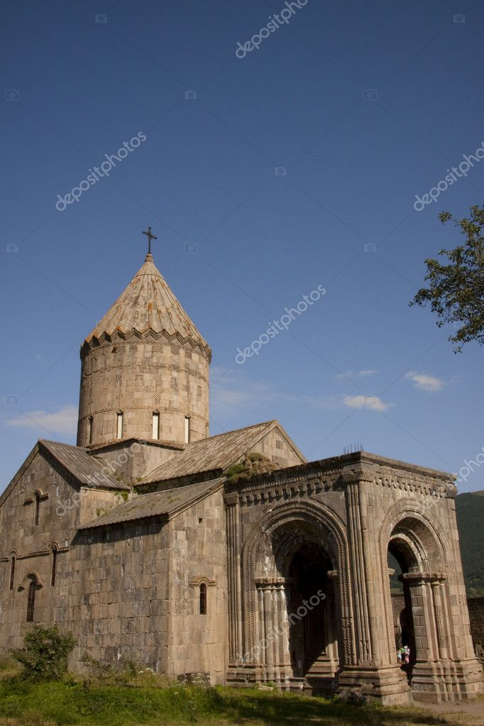 Armenia, Tatev old monastyr, blue sky, summer day. — Stock Photo #2942466