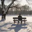 Man on the bench — Stock Photo #2977099