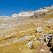 Monte Perdido massif - Ordesa National Park - Sp - Stock Photo