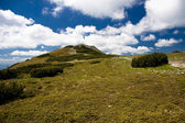 Green beskids — Stock Photo